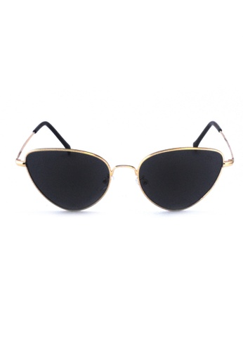 2i's to eyes black Sunglasses│Cat eye│Black Lens│UV400 Protection│2is TaiD 773CAGLC34CE74GS_1