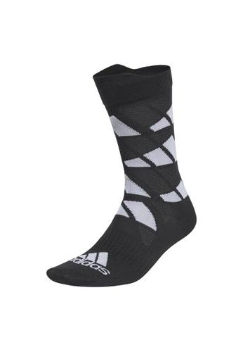 ADIDAS black adidas Ultralight Allover Graphic Crew Performance Socks 15194AA067200DGS_1