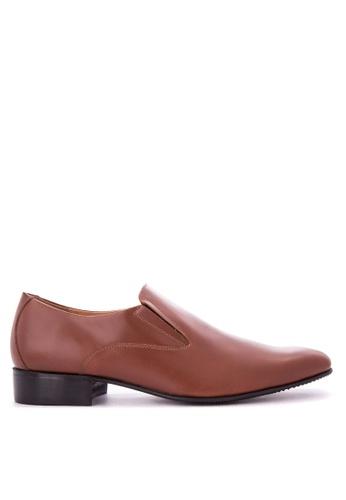 Bristol Shoes brown Mickey Brown Loafer BR842SH0KS58PH_1