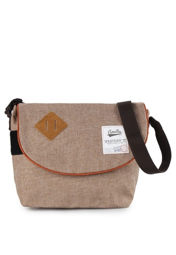 Anello beige Anello Messenger Bag AN804AC71VYEID_1