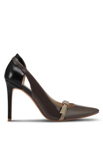 ZALORA brown Classic High Heels 12EA9SHFCDB980GS_1