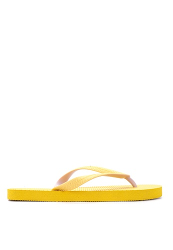 BENCH yellow Basic Rubber Slippers BE550SH54LVPPH_1