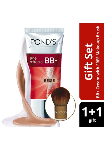 Pond's beige Age Miracle Bb Cream Beige 25G With Free Brush A2CCEBE731935FGS_1