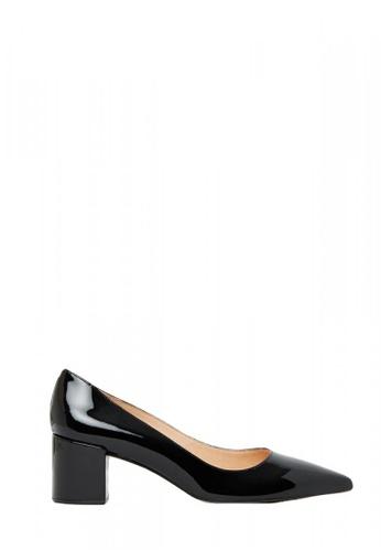 Nina Armando black Ivanka Patent Leather Low Heel NI342SH0FV8FSG_1
