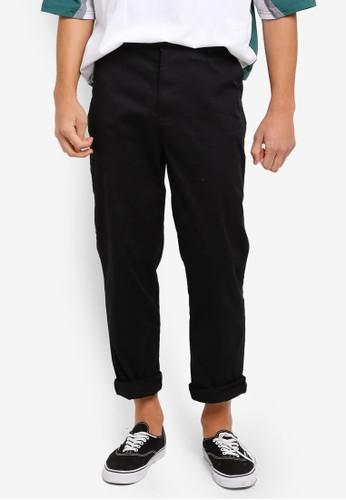 Factorie black Straight Leg Pants AB82CAA841366EGS_1
