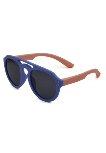 jojo purple Retro Aviator Polarized Sunglasses 31CE7KC2369899GS_1