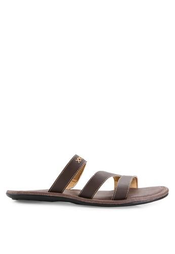 MARC & STUART Shoes black Sandal Hector 3 MA456SH0UOQYID_1
