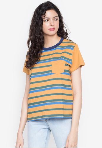 Artwork yellow Cheese Lines T-Shirt 8B2B0AAC8303A2GS_1