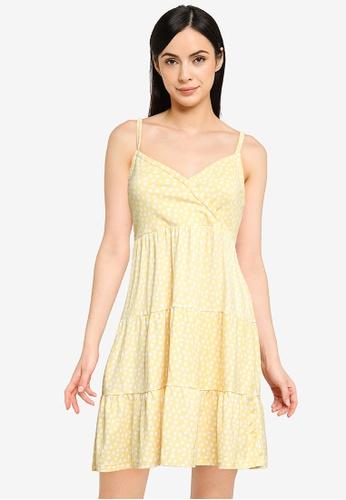 Hollister yellow Bare Knit Dress 4713FAA532D5E4GS_1