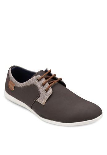 拼色正式繫帶esprit hk休閒鞋, 鞋, 鞋