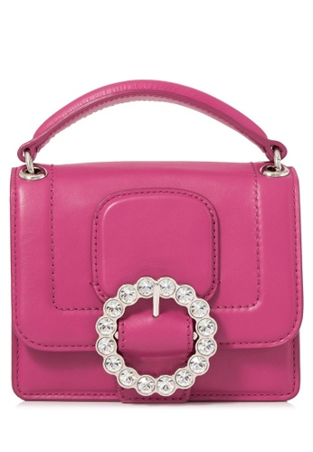 Marc Jacobs pink Pre-Owned Marc Jacobs Box Crystal Crossbody Bag 5CD45AC4A6DA00GS_1