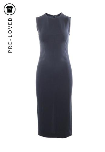 Joseph black Pre-Loved joseph Sleeveless Black Midi Office Dress 11D20AA452798CGS_1
