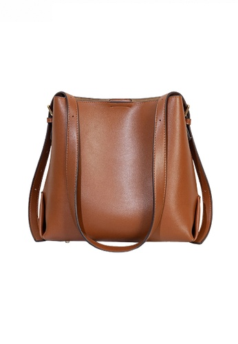 Twenty Eight Shoes brown Trendy Faux Leather Three-Way Handbag JW CL-C5236 52537AC9B73646GS_1