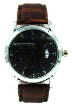 Valia Sydney Leather Strap Watch 8123-1