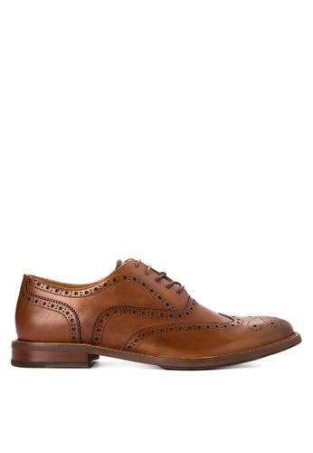 ALDO brown Bartolello-R Brogue Shoes AL087SH0JJ15PH_1