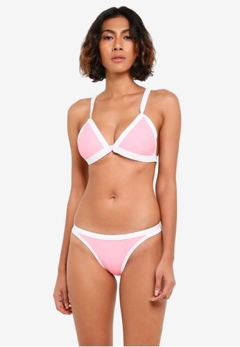Yshey pink Kelly Mimosa Bikini Set YS681US0RTLOMY_1