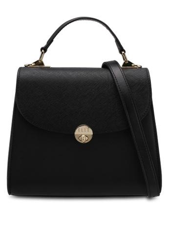 ELLE black Layla Top Handle Bag 18A41ACBE2BF6EGS_1