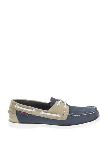 Sebago blue Mens Spinnaker Boat Shoes SE328SH36ZIXPH_1