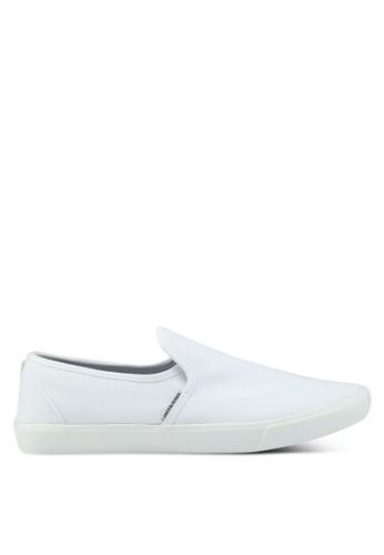 Jack & Jones white Seb Bright White Slip Ons 9D7AESH70039B9GS_1