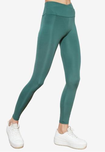 Trendyol green Sports Leggings 6F342AA70A1E0EGS_1