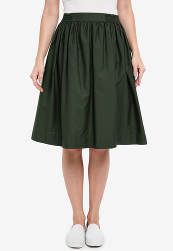OVS green Women's Skirt E0E2EAAB3B6EC7GS_1