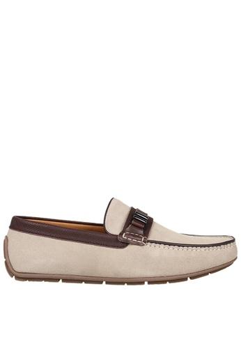 Tomaz beige Tomaz C336 Front Buckled Loafers (Beige) 5ECA7SHCC3FB39GS_1