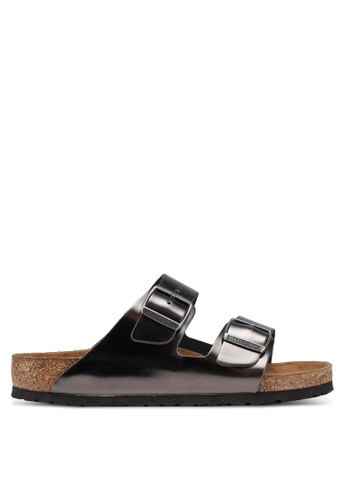 b3a0e98fd Buy Birkenstock Arizona Metallic Sandals Online on ZALORA Singapore