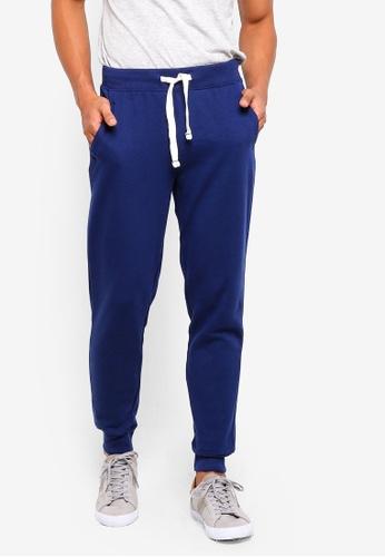 OVS 藍色 慢跑褲 0A573AAA3B91FAGS_1