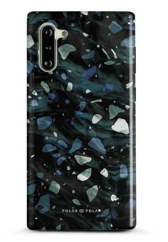 Polar Polar grey Nordic Terrazzo Gem Dual-Layer Tough Case Glossy For Samsung Galaxy Note10 B0B1BAC3864796GS_1