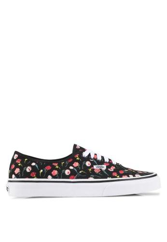 VANS black Authentic Valentine Sneakers VA142SH0SWSDMY_1