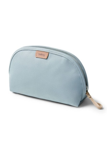 Bellroy blue Bellroy Classic Pouch - Smoke Blue (Plant-Based / Leather-Free) 026CDACD042B6DGS_1