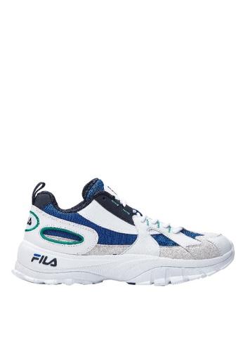 FILA white FILA HIT-3000 Sports Shoes 40CA0SH5B96752GS_1