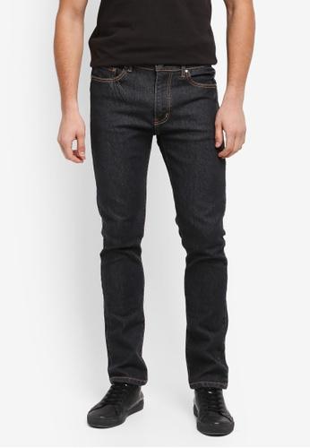 Kent & Crew black Jeans Slim Fit 892F0AA4BF5F53GS_1