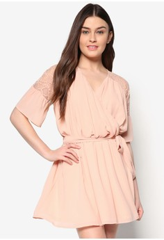 Love Lace Yoke Swing Dress