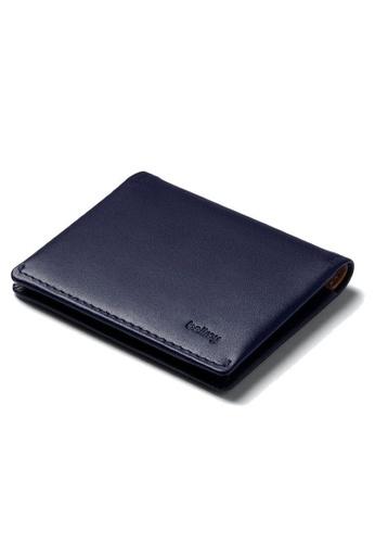 Bellroy blue Bellroy Slim Sleeve Wallet - Navy/Tan. 97488AC99A5DB8GS_1