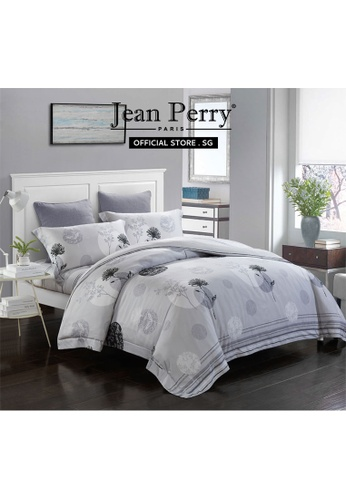 Jean Perry Jean Perry Renate Ecosilk Collection 800TC Sarona - Quilt Cover Bed Set  - Queen 7AC69HLA5D1B11GS_1
