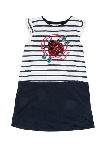 Desigual navy Sleeveless Graphic Dress 9FBB9KA8FF4548GS_1