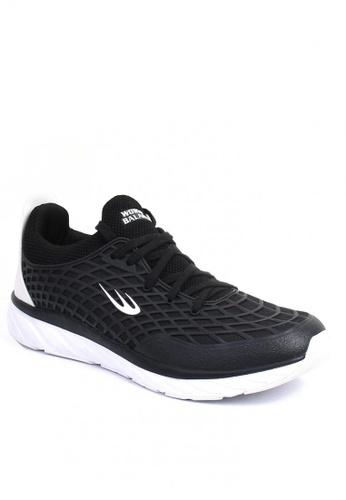 World Balance black Grid Iron Men Cross Training Shoes 4FA1ASH1EBF08DGS_1