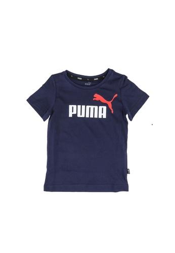 PUMA navy Essential Logo Youth Tee ED249KA804122BGS_1