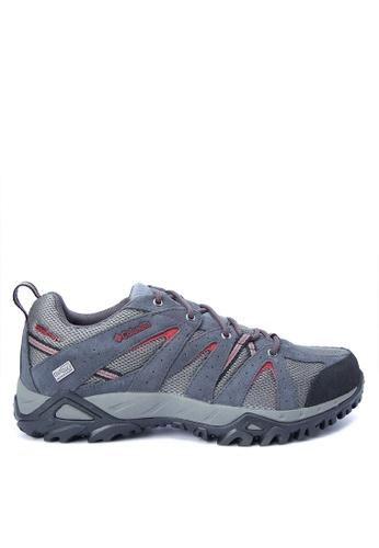Columbia grey Grand Canyon Outdry Men's Shoes A2EC7SHD8897F2GS_1