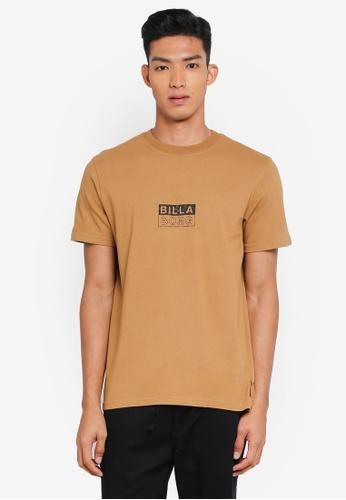 Billabong 綠色 休閒印花T恤 E619FAA2B72E85GS_1