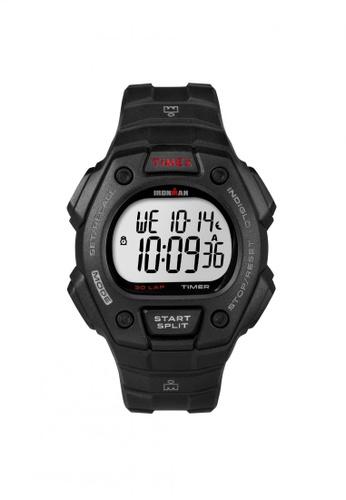 TIMEX black Timex IRONMAN® Classic 30 Full-Size - Black Resin Strap (T5K822) TI857AC68QQPSG_1
