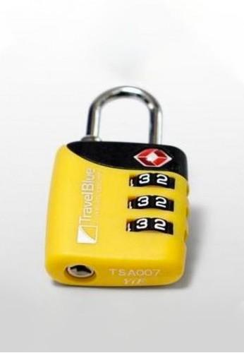 Travel Blue yellow Travel Blue Gembok Koper Combi TSA Lock New TB029 97873AC1C2D52EGS_1