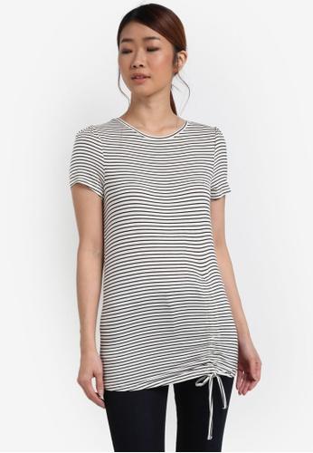 ESPRIT white Short Sleeve T-Shirt ES374AA0SPIKMY_1