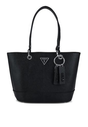 Guess black Noelle Small Elite Tote Bag BEDA3AC8ECB7B8GS_1