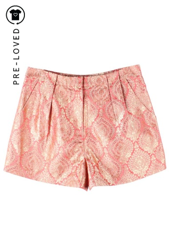 Elizabeth And James orange Pre-Loved elizabeth and james High Waist Short DB6A1AA405BF83GS_1