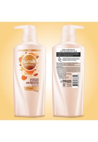 SUNSILK Sunsilk Natural Almond & Honey Anti Breakage Shampoo 450 ml 1E6E7ES7F4A923GS_1
