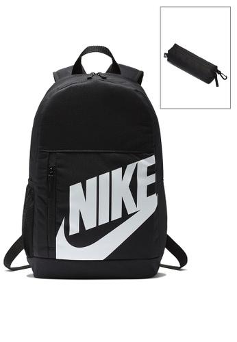 Nike black Elemental Backpack 1F0A6KC1DE78B1GS_1