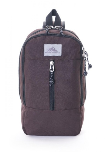 High Sierra brown Hs Keno Jp Keno Sling Bag D2D58AC0B0A3A1GS_1