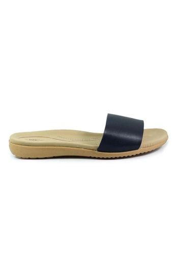 BNC black Slide Sandals 88F38SH23CC618GS_1